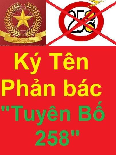 Gửi bạn Đoan Trang, một thành viên của nhóm Tuyên bố 258