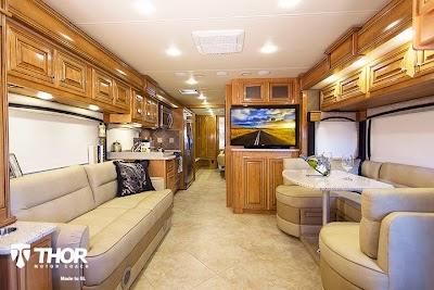 Thor Motor Coach diesel models a big splash at Pomona RV Show