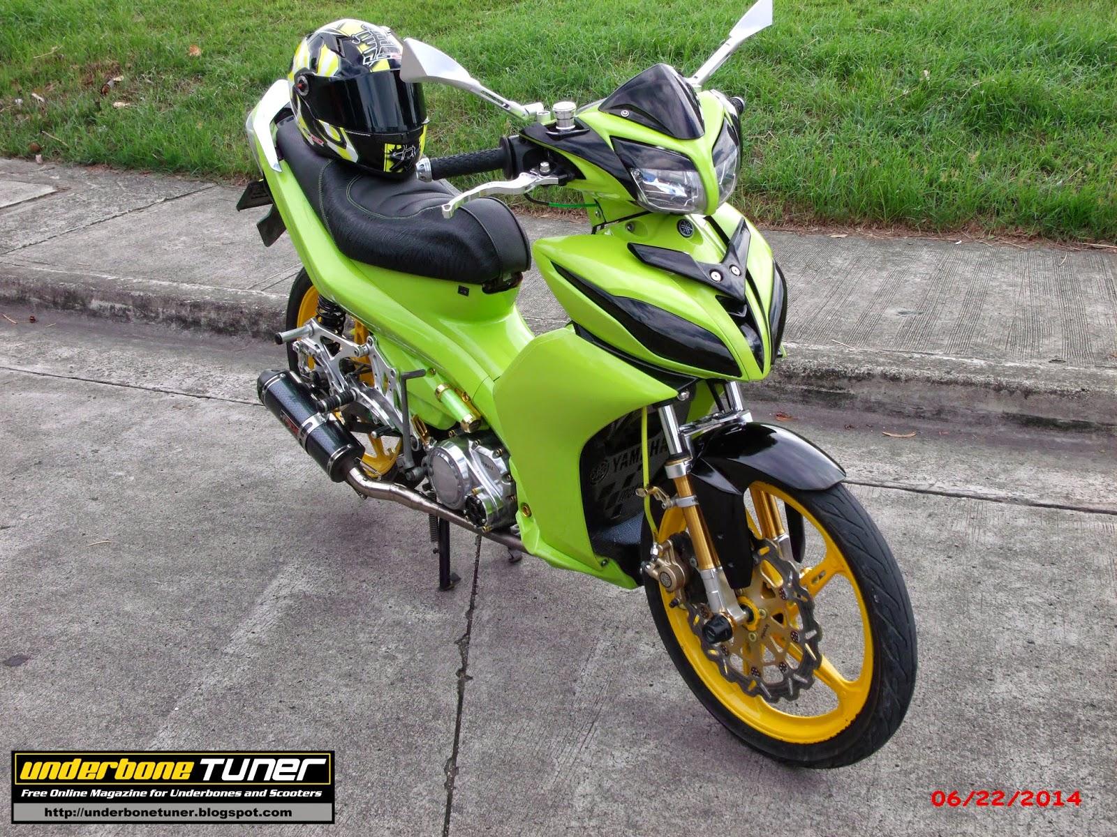 Underbone Tuner  Modified Yamaha Vega Force  Nascar
