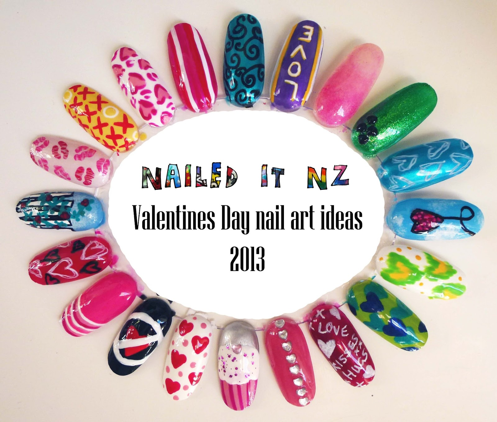 Valentines day nail art ideas + Born Pretty Store review