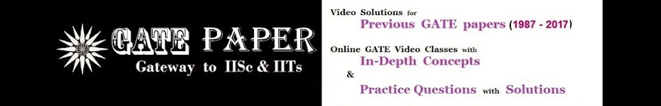 GATE 2017 - Previous Solutions & Video Lectures for FREE
