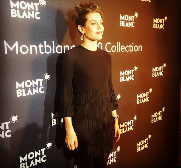 Charlotte Casiraghi at the Salon International de la Haute Horlogerie in Genève, Switzerland