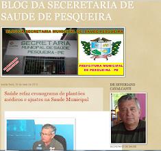 BLOG DA SAUDE DE PESQUEIRA