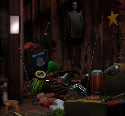 Hidden Object: Haunted House