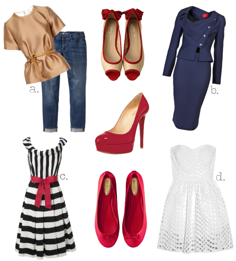 What Shoes To Wear With Christmas Dress