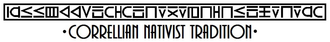 Tradición Nativista Correlliana