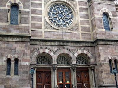 Sinagoga Central de Nova York - Coisas Judaicas