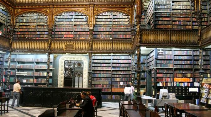 Perpustakaan Paling Indah Di Dunia