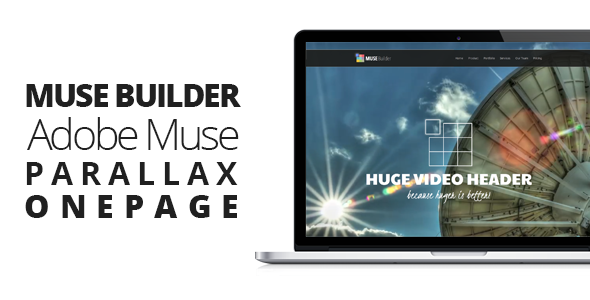 OnePage Muse Template