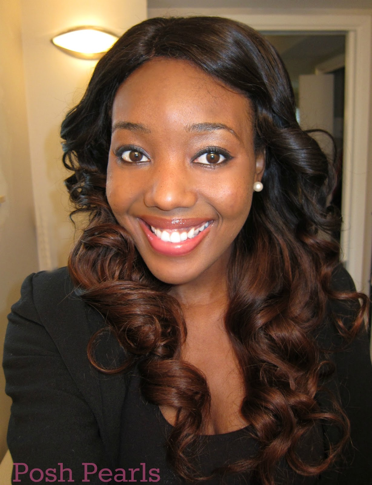 Posh Pearls: DIY: Ombre Hair Using Virgin Brazilian Hair Extensions