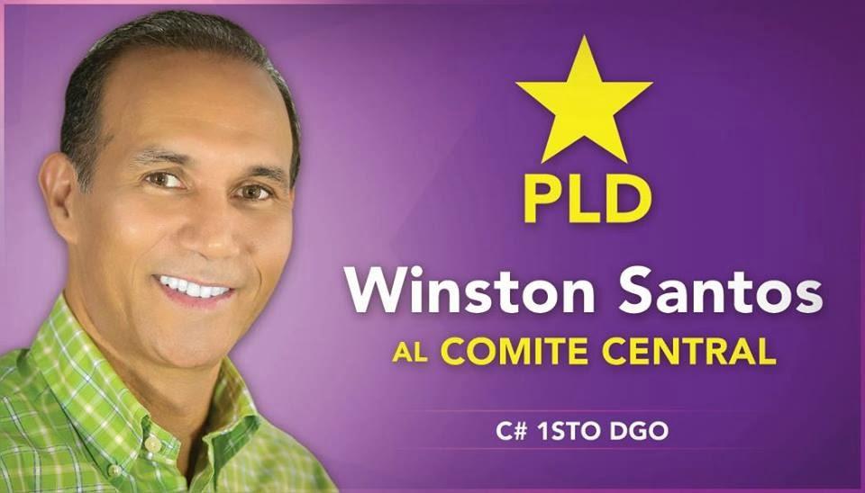Winston Santos                             al Comite Central por C.1 Sto. Dgo. Este