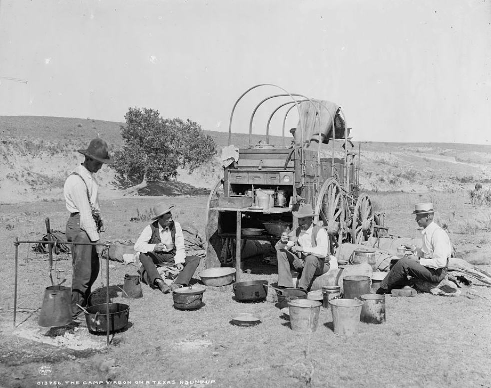 Wild West History: Daily Life on an Old West Cattle Drive