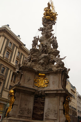 Pestsaule in Graben Vienna