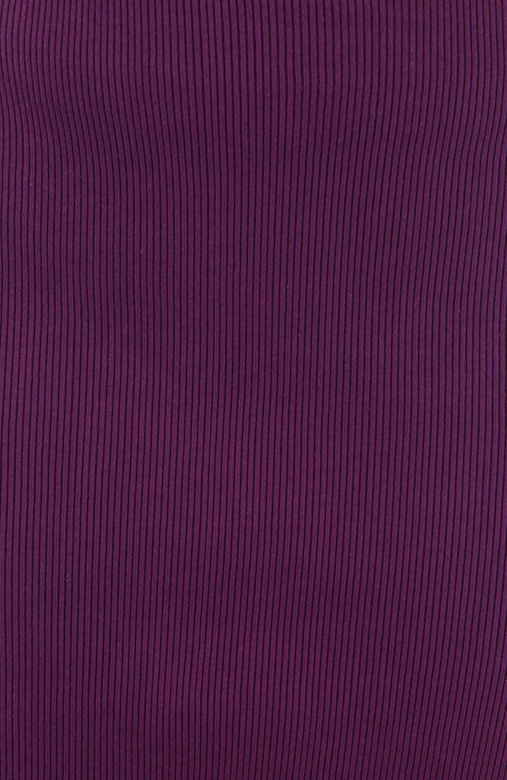 Royal Purple Corduroy Pencil Skirt