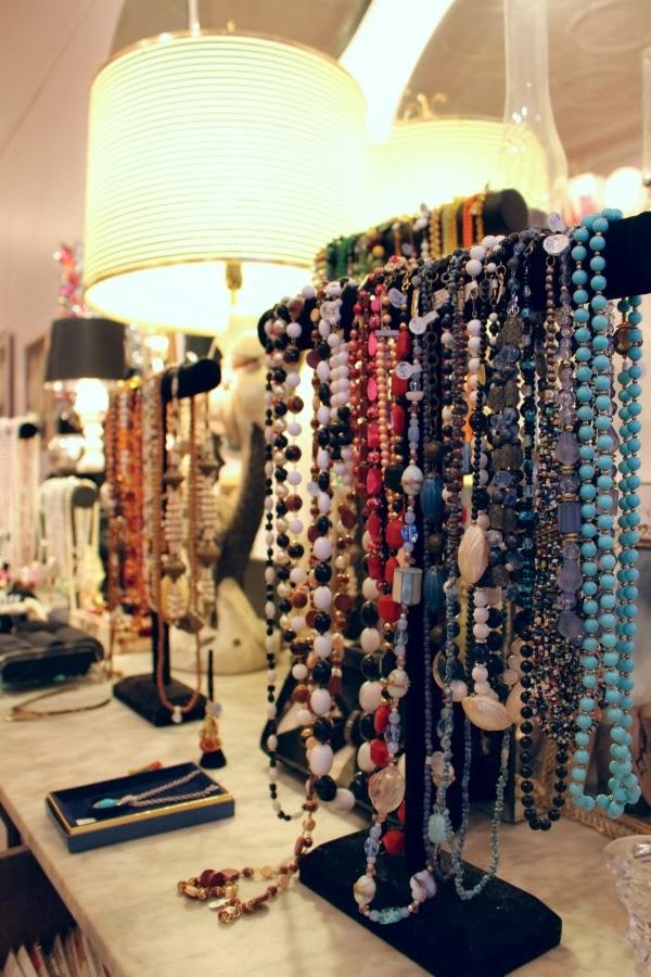 Vintage Jewelry Display #vintage #jewelry