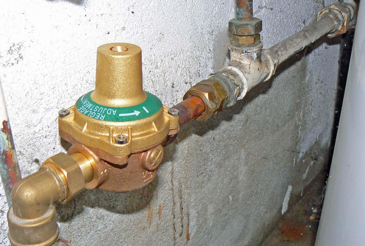 washing machine water pressure regulator