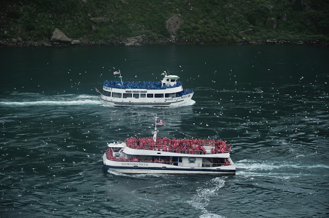 Maid of the Mist vs Hornblower Niagara Cruise