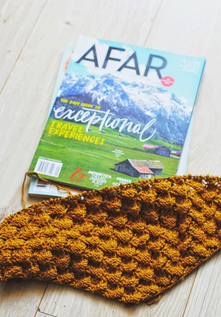 yarn along: wanderlust