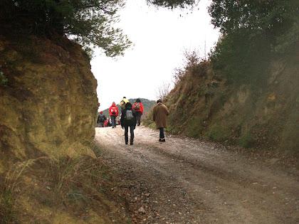 Direcció a l'autopista de Montserrat