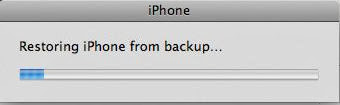 restore iphone data from itunes backup