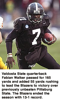 Blazer Nature : Top 10 Valdosta State Quarterbacks of All-Time