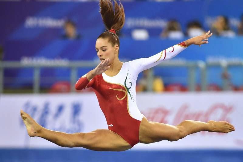 Atleta Filipa Martins vence ouro em paralelas assimétricas na Taça do Mundo de Ginástica Artística