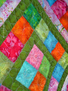 Boxed In, quilting detail 2