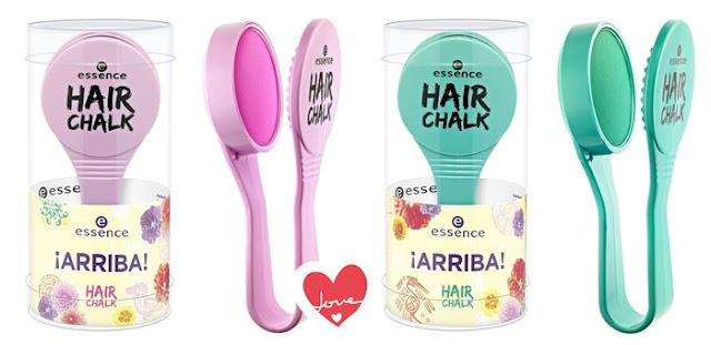 hair chalk tinte pelo colores tiza