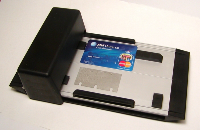 credit card carbon copy machine
