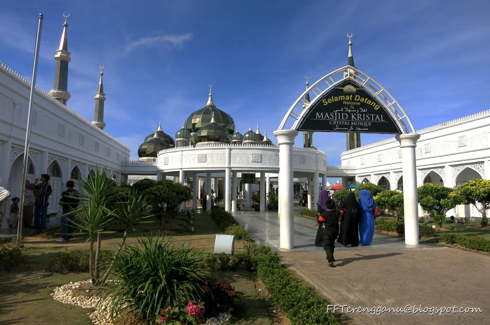 Jomm Terengganu Selalu...: Masjid Kristal, Kuala Terengganu
