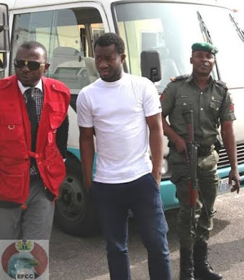 yahoo boy arrested lagos