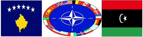 The recent NATO intervention into Libya had many similarities and some key differences to the NATO intervention in Kosovo in 1999.