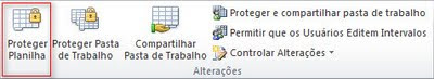 Excel 2010 - Proteger Planilha