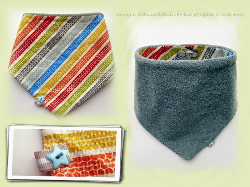 шарфик для малыша своими руками