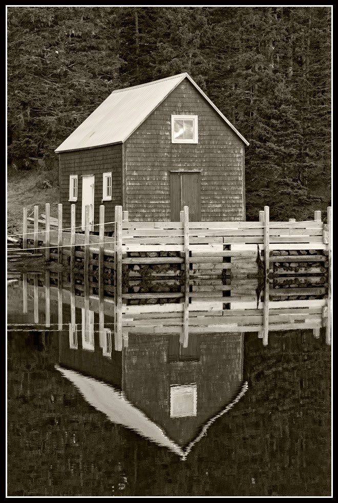 Nova Scotia; Boathouse