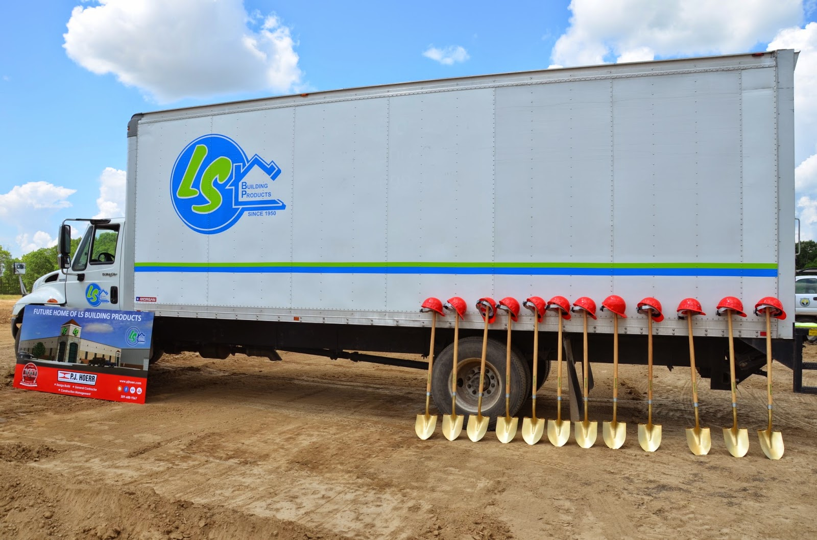 P J Hoerr Inc Ls Building Products Ground Breaking
