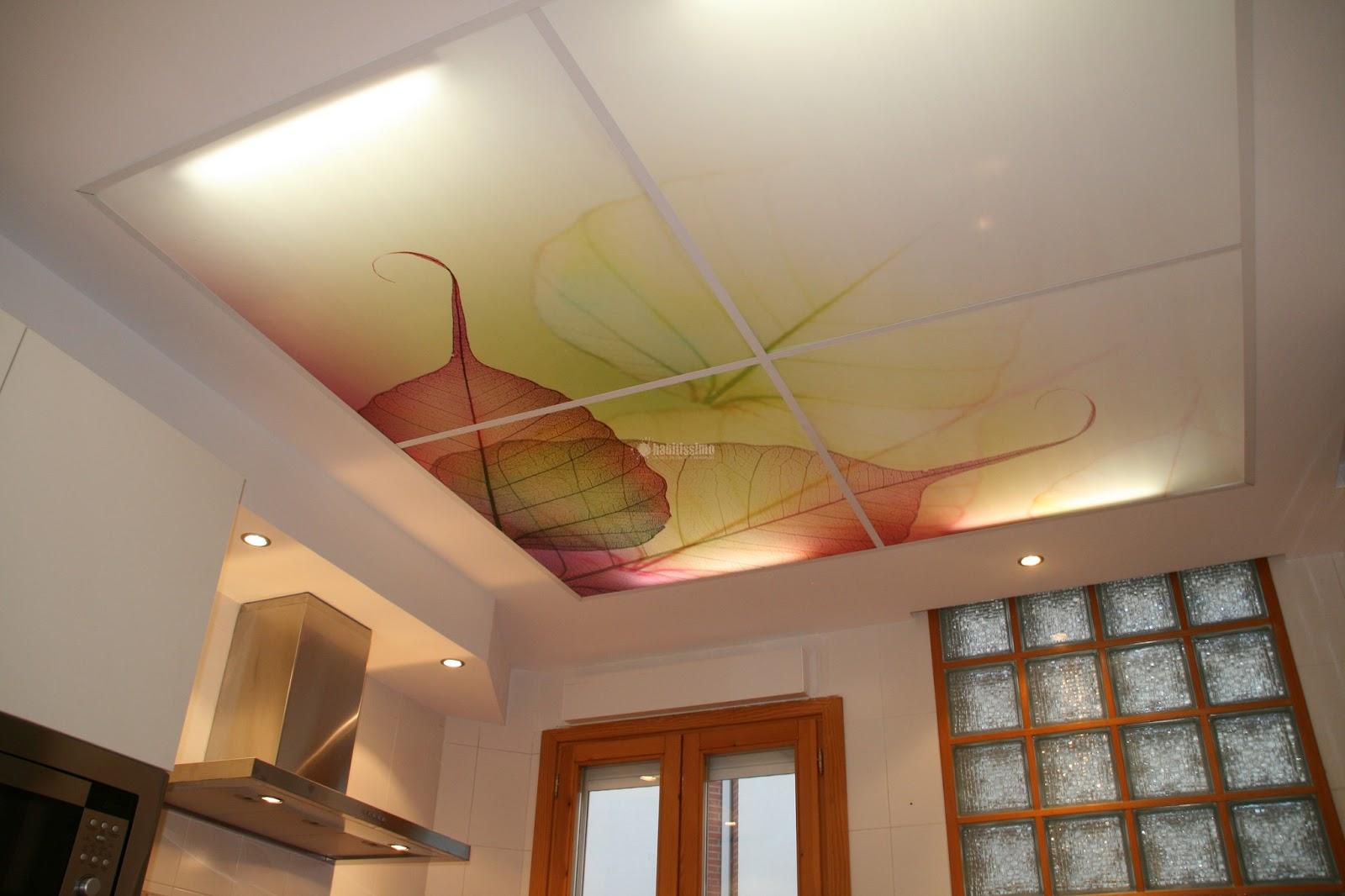 Pinturas y decoraci n 35 como pintar techo cocina - Como pintar el techo ...