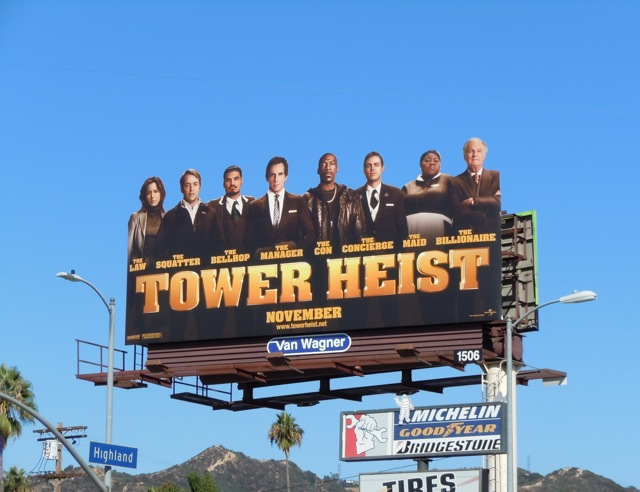 Tower Heist billboard