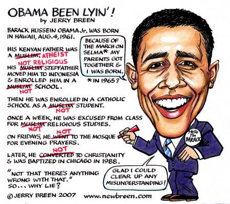 obama dishonest lier
