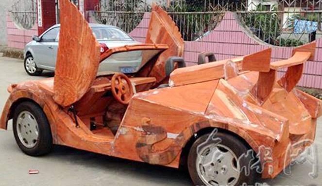 Lamborghini Roadster Mahoni