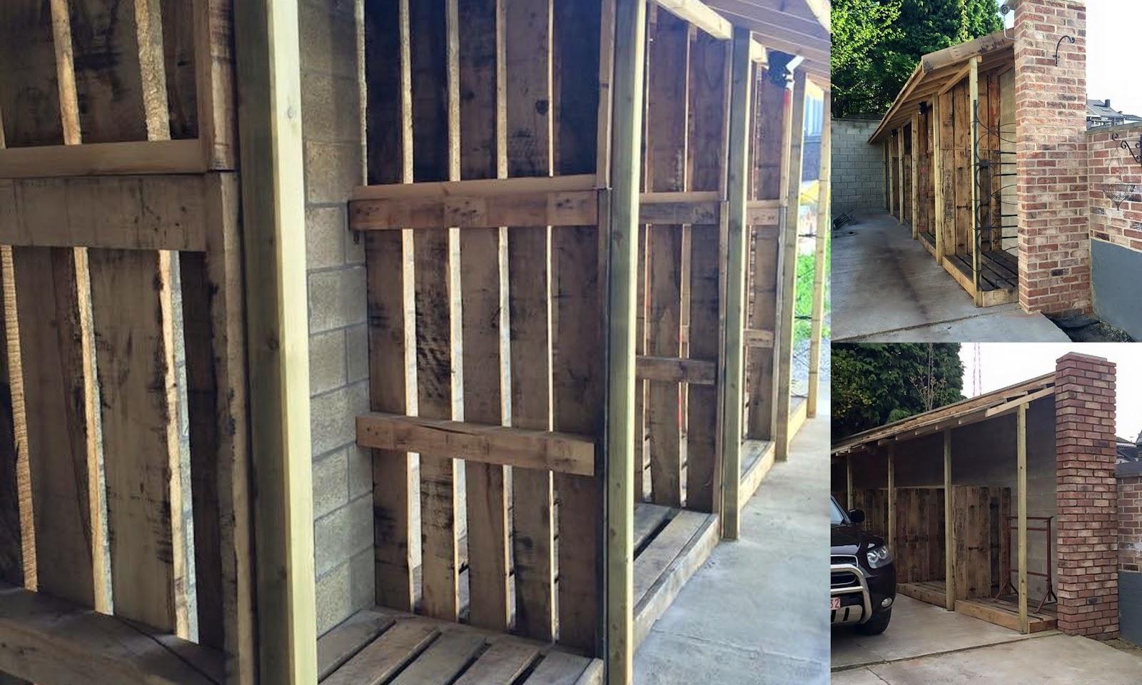 Combien De Steres De Bois Pour Un Hiver - Mon blog parmi tant d'autres Lechatmorpheus Construction d'un abrià bois de chauffage