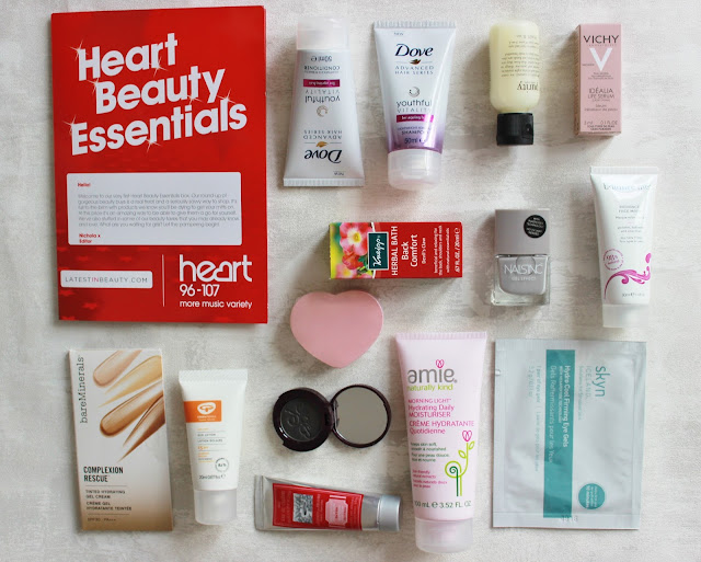 Latest in Beauty Heart Beauty essentials box contents