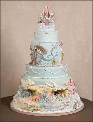 Cake Decorating Competition Winners : Romantic Wedding Cakes Kerry Vincent