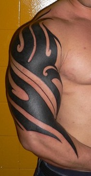 tribal sleeve tattoos-06