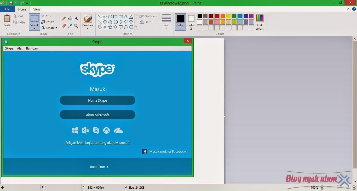 cara screenshoot layar komputer