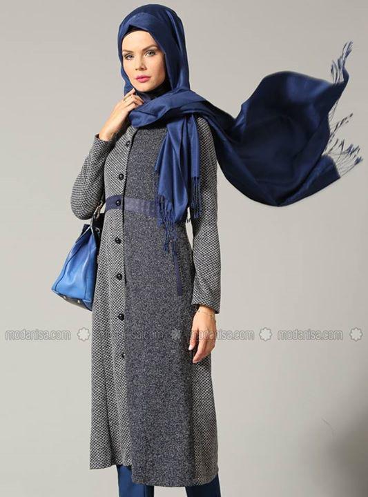 Hijab Style Tunique Hijab Moderne Et Tendance Automne Hiver 2016 Hijab Et Voile Mode Style