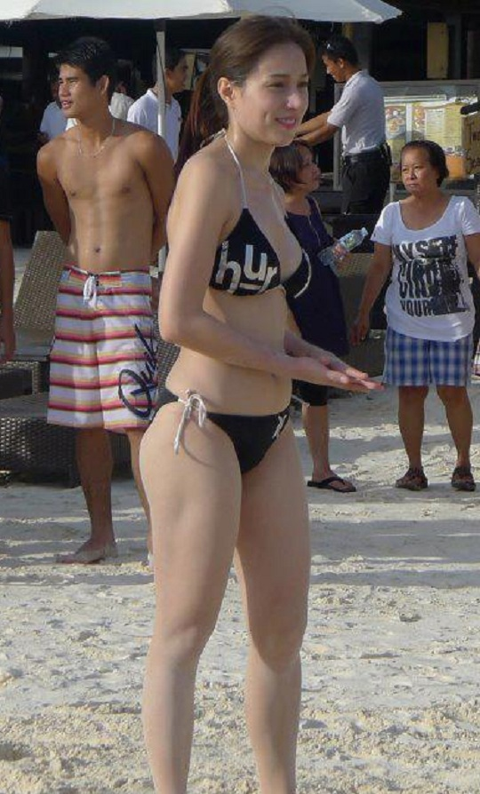 cristine reyes hot beach bikini photos 6