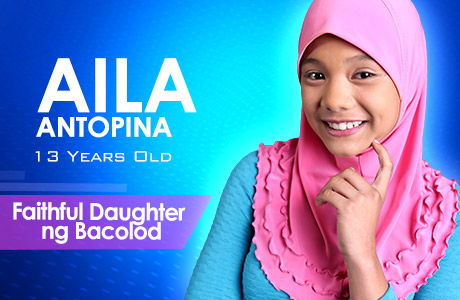 """Faithful Daughter ng Bacolod"" - Aila Antopina"