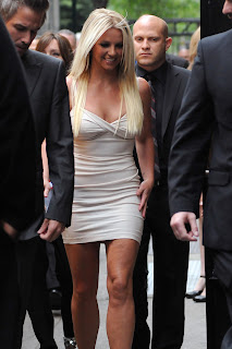 Britney Spears Leggy Candids
