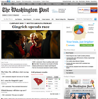Американская газета на английском языке